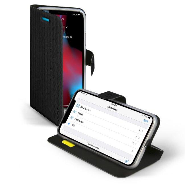 SBS Book Sense Case for iPhone XR, black