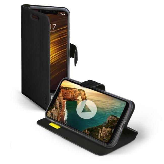 SBS Book Sense Case for Xiaomi Pocophone F1, black