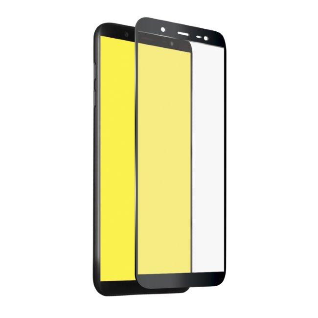 Tvrzené sklo SBS Full Cover pro Samsung Galaxy J4 Plus-J415F a J6 Plus-J610F