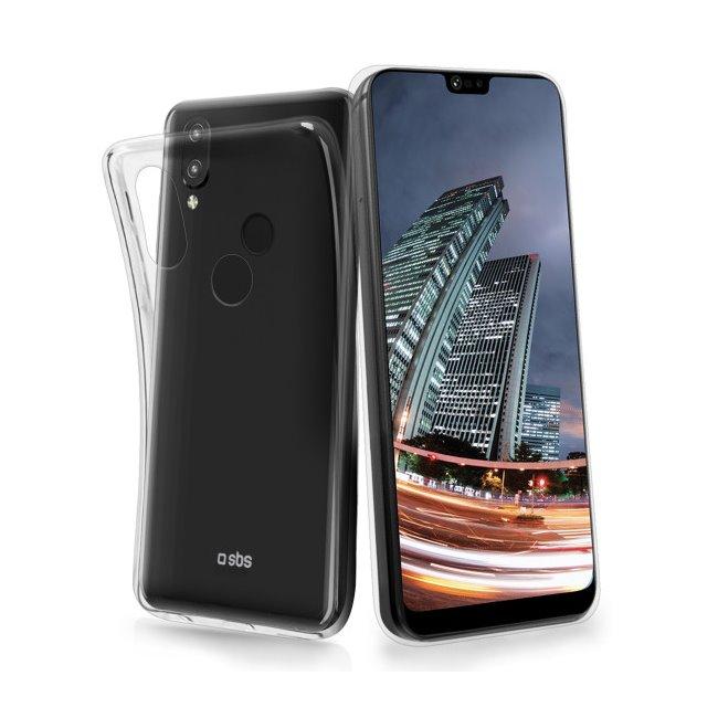 Pouzdro SBS Skinny pro Huawei P20 Lite, transparentní