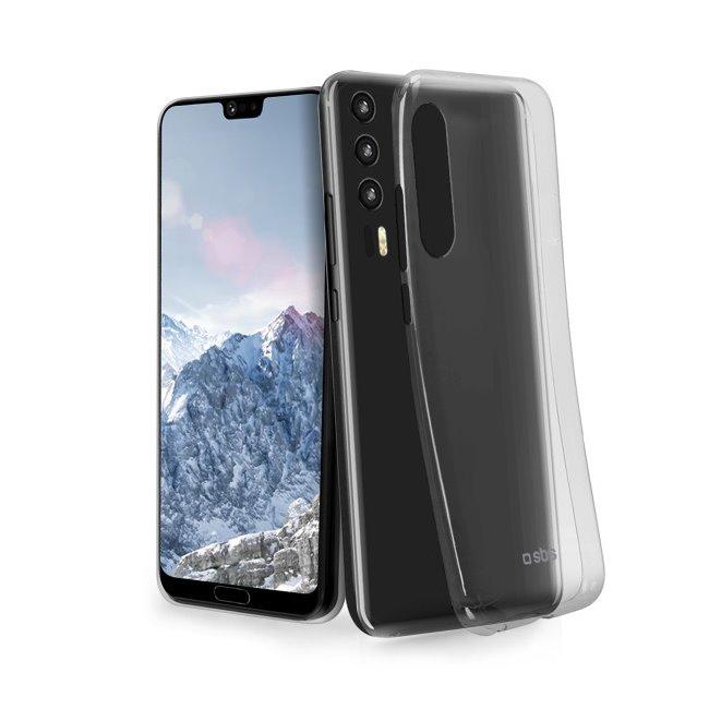Pouzdro SBS Skinny pro Huawei P20 Pro, transparentní