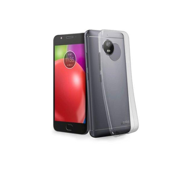 Pouzdro SBS Skinny pro Motorola Moto E4, transparentní