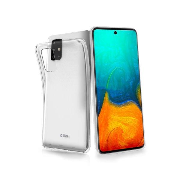 SBS pouzdro Skinny pro Samsung Galaxy A71-A715F, transparent