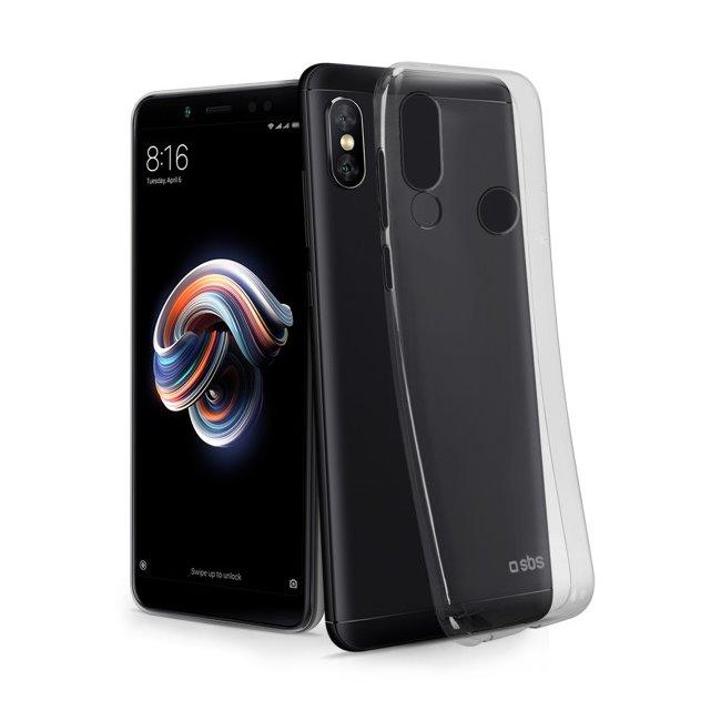 Pouzdro SBS Skinny pro Xiaomi Redmi Note 5, transparentní