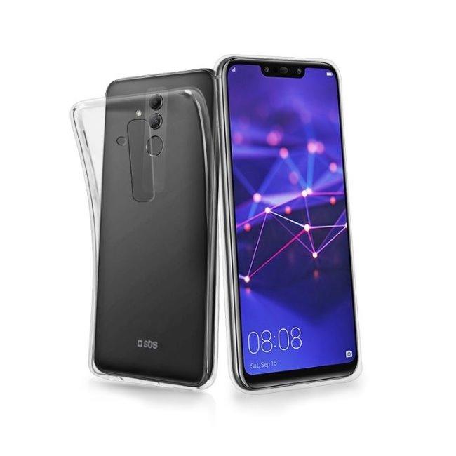 Pouzdro SBS Skinny pro Huawei Mate 20 Lite, transparentní
