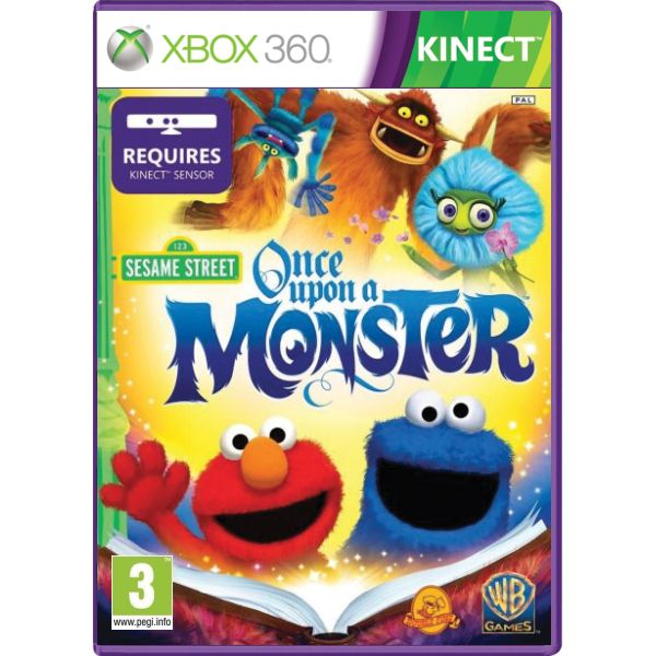 Sesame Street: Once Upon a Monster XBOX 360
