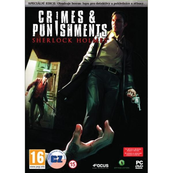 Sherlock Holmes: Crimes & Punishments (Speciální edice) CZ PC