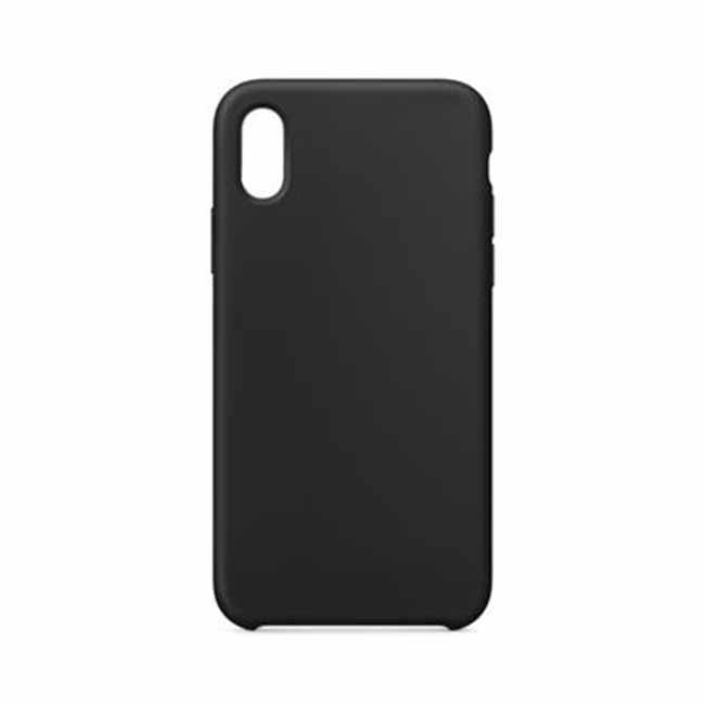 Silikónové púzdro Swissten Liquid pre Apple iPhone 7/8, čierne