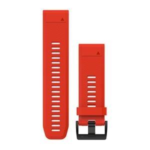 Silikonový řemínek Garmin QuickFit ™ 26 na zápěstí fénix 3 a 5X, Red
