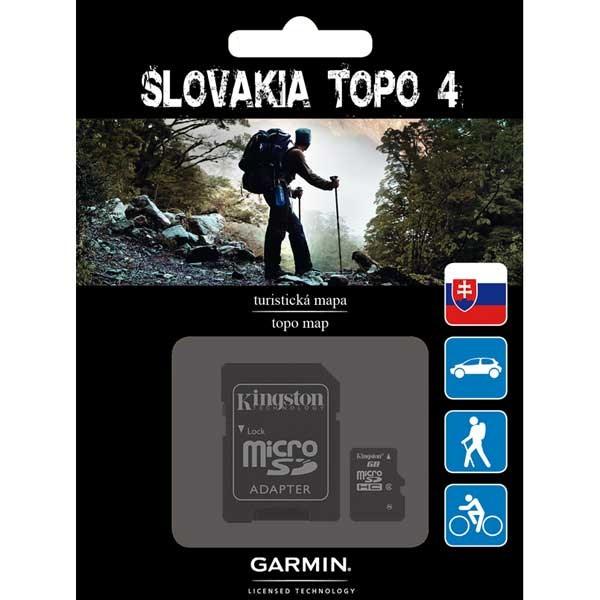 Slovakia TOPO 4 (SK TOPO)-micro SD/SD