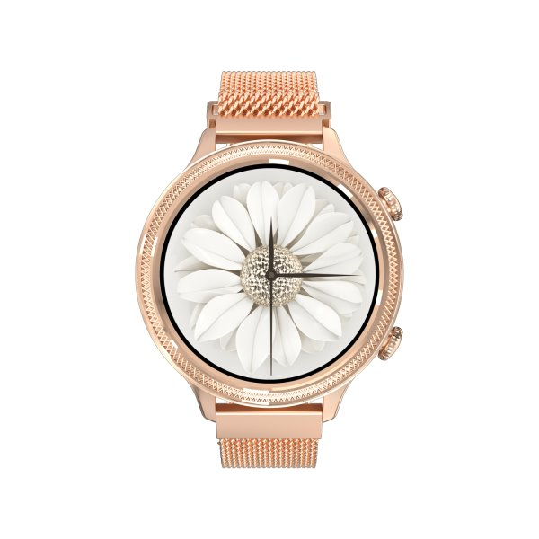 Carneo Gear+ Deluxe smart hodinky, zlaté