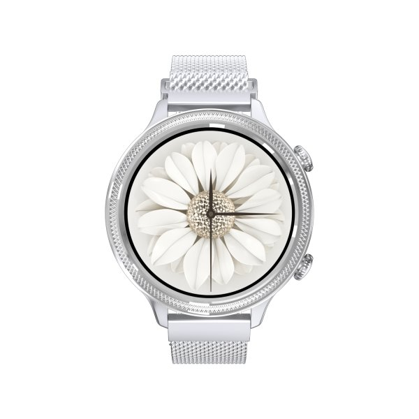Carneo Gear+ Deluxe smart hodinky, strieborné