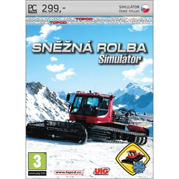 Simulátor sněžné rolby CZ PC
