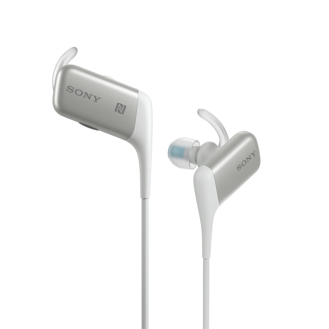 Sony ACTIVE MDR-AS600BT, kabelový Headset, White