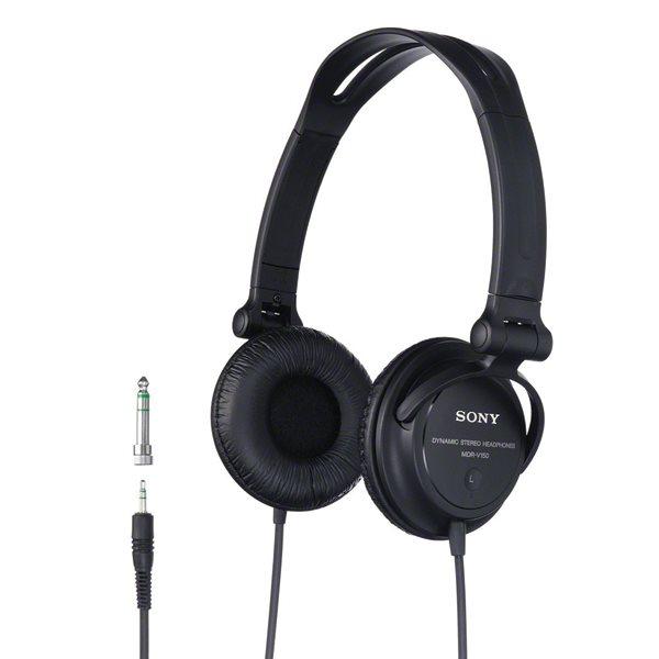 Sony DJ MDR-V150, black