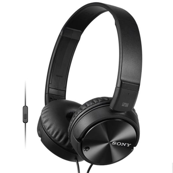 Sony MDR-ZX110NA s handsfree a Noise Cancelling, black