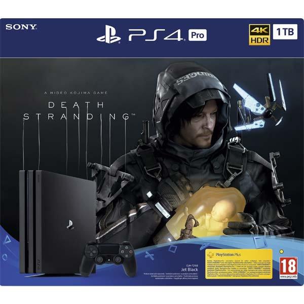 Sony PlayStation 4 Pro 1TB + Death Stranding CZ