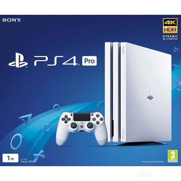 Sony PlayStation 4 Pro 1TB, glacier white