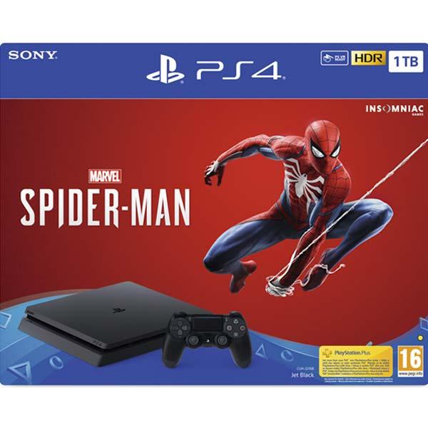 Sony PlayStation 4 Slim 1TB + Marvel 's Spider-Man CZ