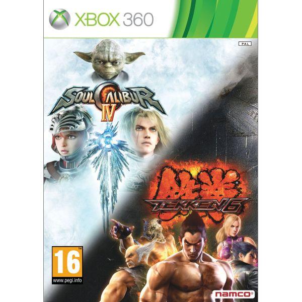 SoulCalibur 4 Tekken 6 XBOX 360