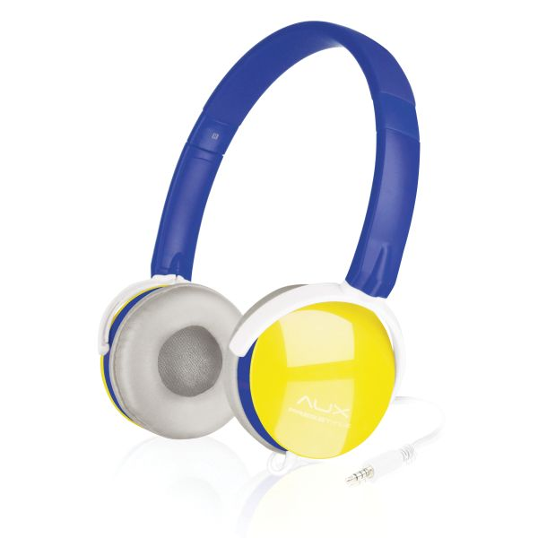 Speed-Link Aux Freestyle Stereo Headset, blue-yellow