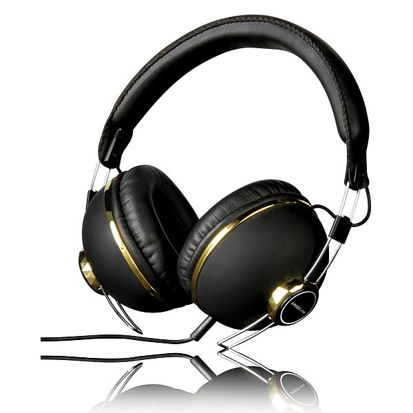Speed-Link Bazza Stereo Headset, black-gold