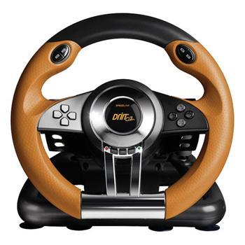Speed-Link Drift O.Z. Racing Wheel for PS3, black-orange