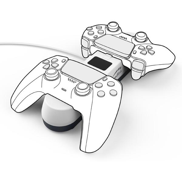 Speedlink Jazz USB Charger for PS5, white