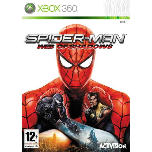 Spider-Man: Web of Shadows [XBOX 360] - BAZAR (pou�it� zbo��)