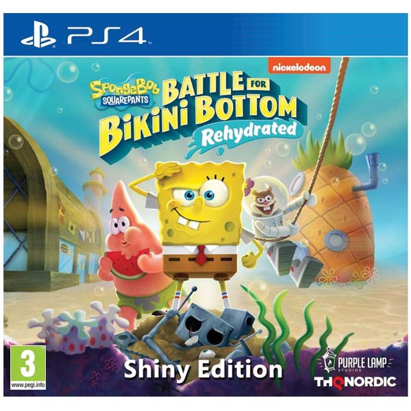 SpongeBob SquarePants: Battle for Bikini Bottom (Rehydrated, Shiny Edition) PS4