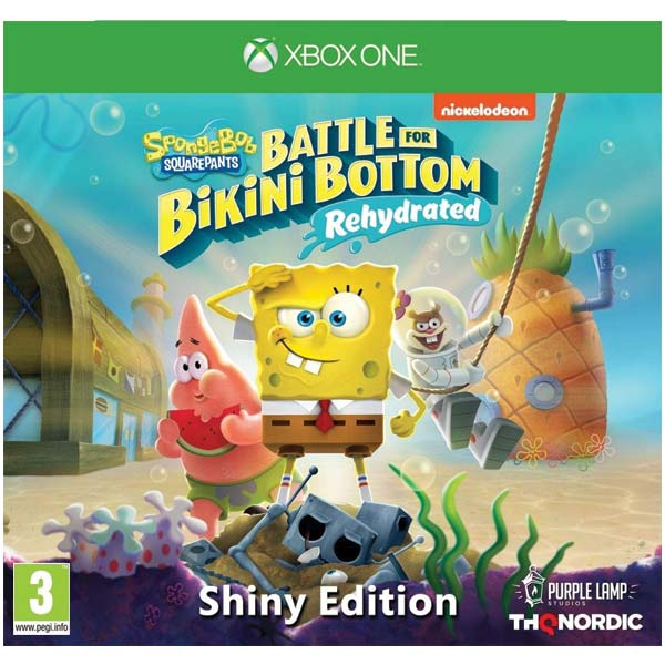 SpongeBob SquarePants: Battle for Bikini Bottom (Rehydrated, Shiny Edition) XBOX ONE