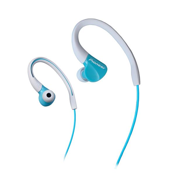 Sportovní sluchátka Pioneer SE-E3, aqua