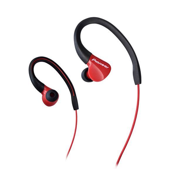 Sportovní sluchátka Pioneer SE-E3, red