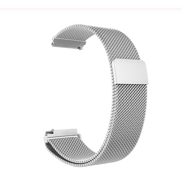 Stříbrný kovový náramek pro Samsung Galaxy Watch-SM-R800, 46mm