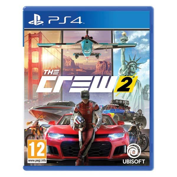 The Crew 2[PS4]-BAZAR (použité zboží)