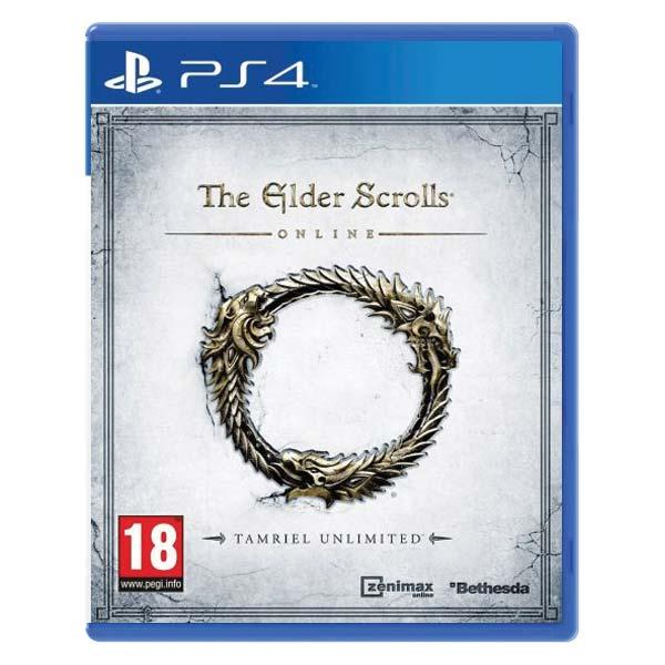 The Elder Scrolls Online: Tamriel Unlimited[PS4]-BAZAR (použité zboží)