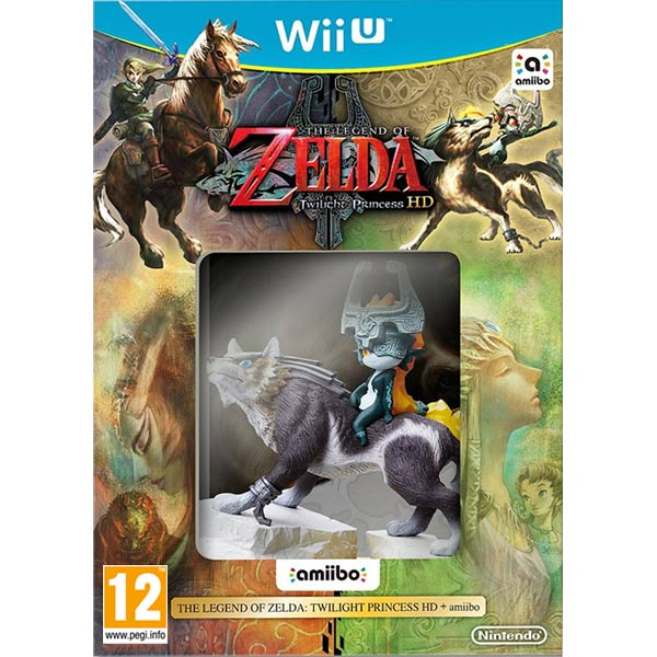 The Legend of Zelda: Twilight Princess HD + amiibo Wii U
