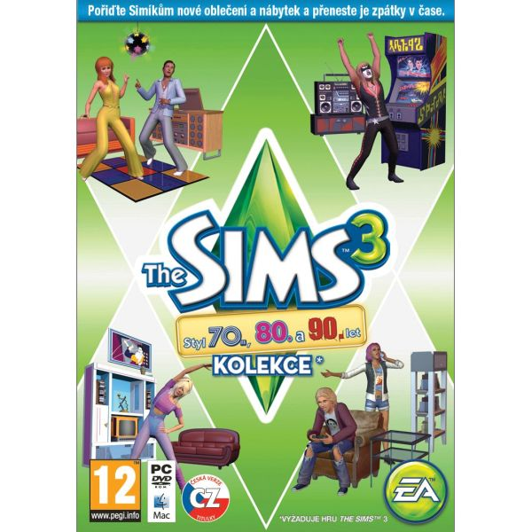 The Sims 3: Styl 70., 80. a 90. let CZ