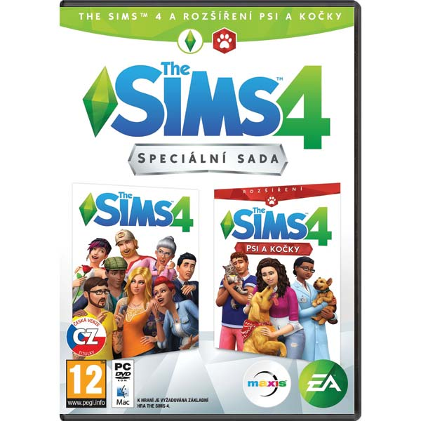 The Sims 4 CZ + The Sims 4: Psi a kočky CZ PC