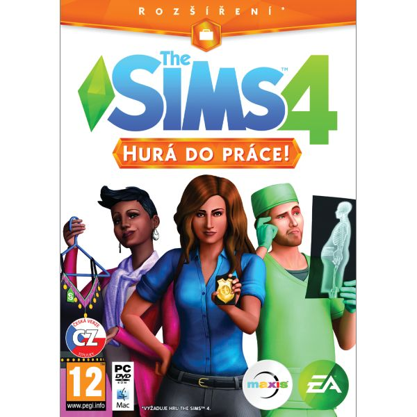 The Sims 4: Hurá do práce CZ PC