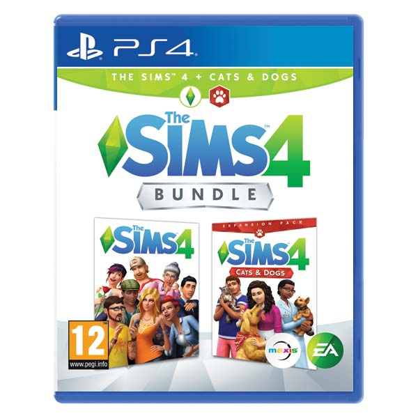 The Sims 4 + The Sims 4: Cats & Dogs PS4