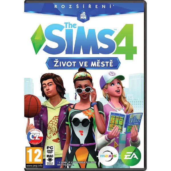 The Sims 4: Život ve městě CZ PC
