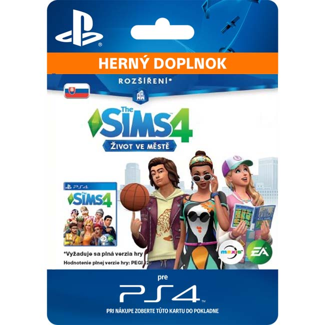 The Sims 4: Život ve městě (SK)