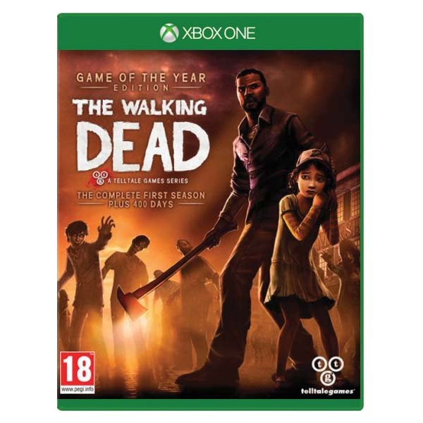 The Walking Dead: The Complete First Season (Game of the Year Edition) [XBOX ONE] - BAZAR (pou�it� zbo��)