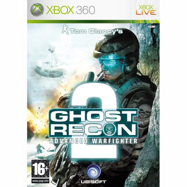 Tom Clancy 'Ghost Recon: Advanced Warfighter 2[XBOX 360]-BAZAR (použité zboží)