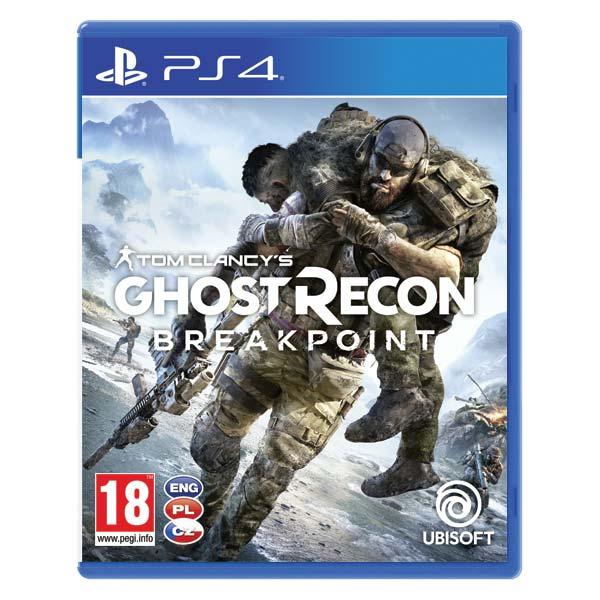 Tom Clancys Ghost Recon: Breakpoint CZ[PS4]-BAZAR (použité zboží)