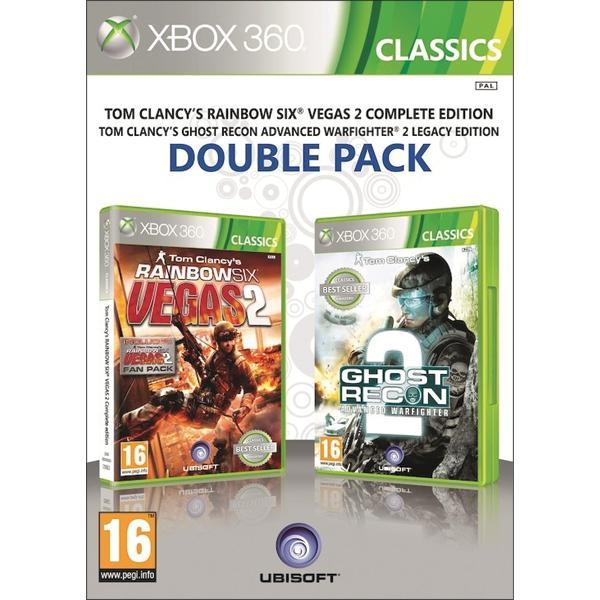 Tom Clancy 'Rainbow Six: Vegas 2 Tom Clancy' Ghost Recon: Advanced Warfighter 2 XBOX 360