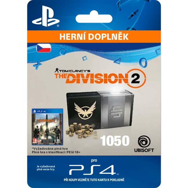 Tom Clancy 'The Division 2 (CZ 1050 Premium Credits Pack)