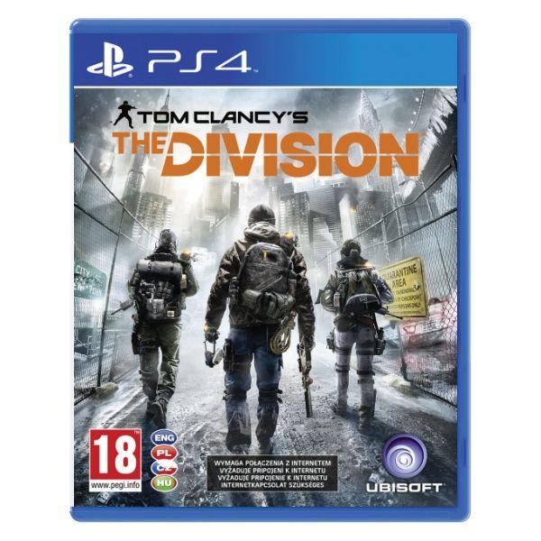 Tom Clancy 'The Division CZ[PS4]-BAZAR (použité zboží)