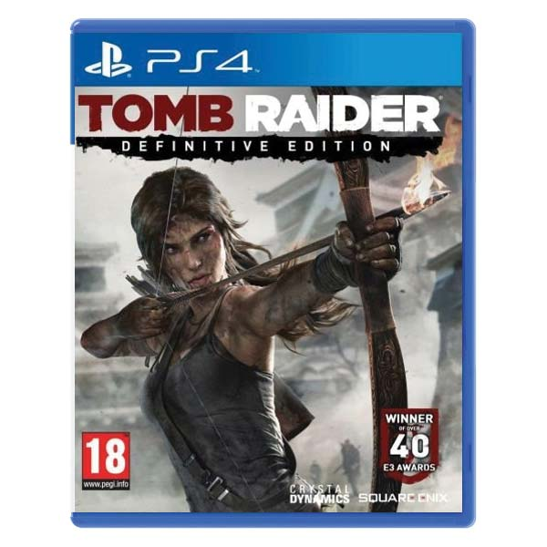 Tomb Raider (Definitive Edition)[PS4]-BAZAR (použité zboží)